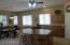kitchen next to Breakfast room