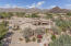 Home is privately placed toward the back of the the acre plus lot and positioned for amazing views of the McDowell Mountains.