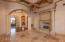 alternate view of formal living room looking back toward entryway.