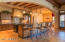 Inspiring kitchen for any chef, the warm & beautiful features will melt even the non-cook's heart.
