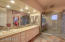 Master Bath with RO drinking from sink, recessed lighting, kohler fixtures and solid cabinets