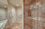 3rd bath tile surround shower and clear glass
