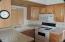 Kitchen and Oak Cabinets