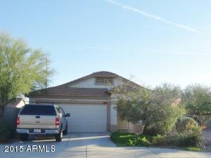 Desert landscaping and new exterior paint