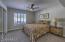 Hall Bedroom w/ Ceiling Fan