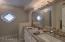 Quartz Counters and Double Sink Vanities
