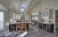 Slab Granite Counters w/ Breakfast Bar