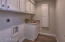 Large Laundry Room w/ Cabinets
