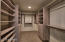 Dream Custom Master Closet with Built in Shelves, Draws and Hanging