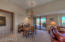 Great Room opens to private back patio.