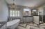 Stunning Master Bath w/ Dramatic Herringbone Flooring !