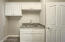 Laundry Room w/ Built in Cabinets, Laundry Sink w/ Quartz Counter Top