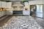 Distressed Wood Floor w/ Stunning Custom Tile Inlay!