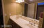 Jack and Jill Bathroom with separate shower and toilet room.