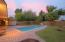 Pool view with slide