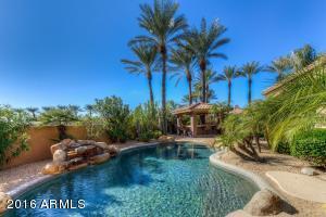 Pool, Water Feature & Ramada