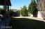 Large backyard on corner homesite