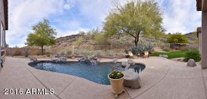 Magnificent private pool.