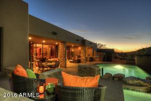 Enjoy spectacular mountain views and gorgeous sunsets