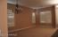 LR: New Shutters, Carpet, Base board, Beautiful light fixture