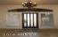 Framed Foyer, Travertine Floors