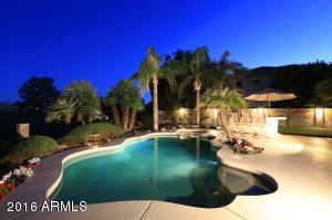Expansive outdoor living space. Beautiful by day or night!