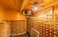 Oh yes, did we mention a custom designed 1200 bottle wine cellar?