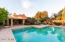 Amazing pool that was recently recoated . Imagine relaxing right here after a long day?