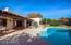 Back yard W/Pool