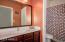 2nd Bedroom sink/vanity separate from bath/shower!