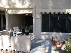 Unit #143 with large patio
