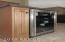 Wine fridge in kitchen!!