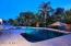 Night pool view 2