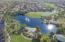 Aerial view of the front of Rancho El Dorado