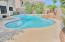 large sparkling pool with new tile and plaster last year.