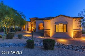 Luxury home located on over 1 full acre of land.