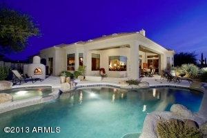Complete with Kiva, tranquil pool/spa, BBQ island & ample patio areas