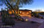 Evening Curb Appeal