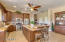Custom Gourmet Kitchen & Oversize Island