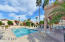One of three community pools