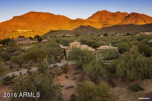 Privacy and views on 2.6 acres, nestled against Lost Canyon.