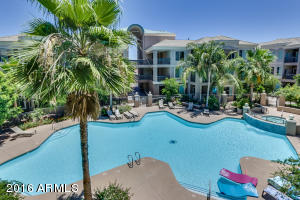 Community features large pool, spa, bbq, grassy areas, sitting areas, work out facility, garage spaces and so much more!