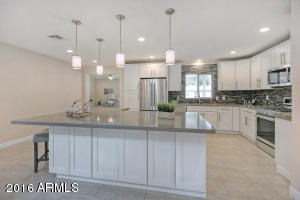 Island Kitchen with plenty of space to cook and entertain