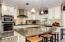 *Remodeled Kitchen w/ Custom Cabinetry, GE Appliances, & Granite Counter tops*