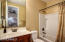 """Guests enjoy total privacy with ensuite measuring 8'3"""" x 5'"""