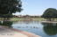 Lake subdivision, complete with walking paths, benches and even ducklings!