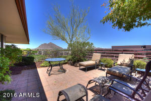 Enjoy this fantastic Camelback Mountain view with unbelievable sunsets