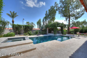 You will love that this home has both a pool and a spa!
