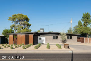 Iconic Mid-Century Home with sandblasted exterior