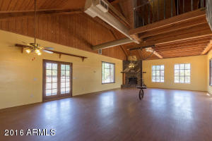 The Great Room! Open space for any size furniture or square dancing!
